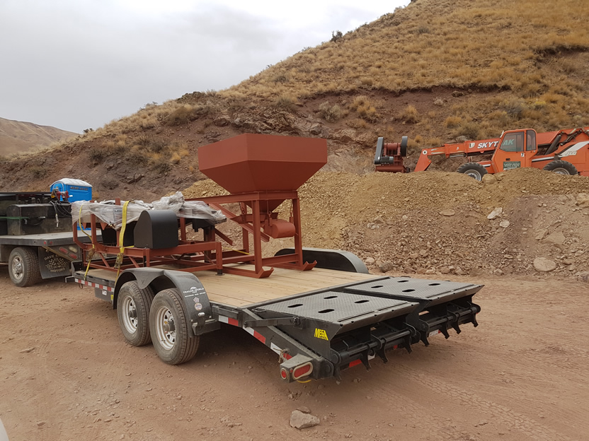 Delivery of Crushing Equipment